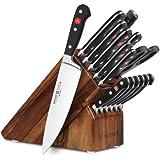 Wusthof Classic 16-piece Acacia Knife Block Set