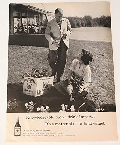 (1960 Imperial Whiskey Magazine Print)