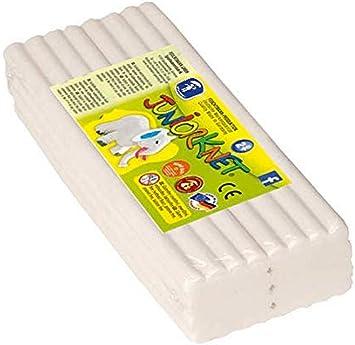 Feuchtmann Spielwaren 628.0305-1 Juniorknet - Pack de plastilina Jumbo, 500 g, Color Blanco: Amazon.es: Juguetes y juegos