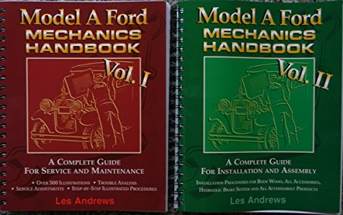 - COMPLETE SET OF MODEL A FORD MECHANICS REPAIR SHOP & SERVICE MANUAL 2 VOL. SET - ALL MODELS 1928, 1929, 1930 and 1931