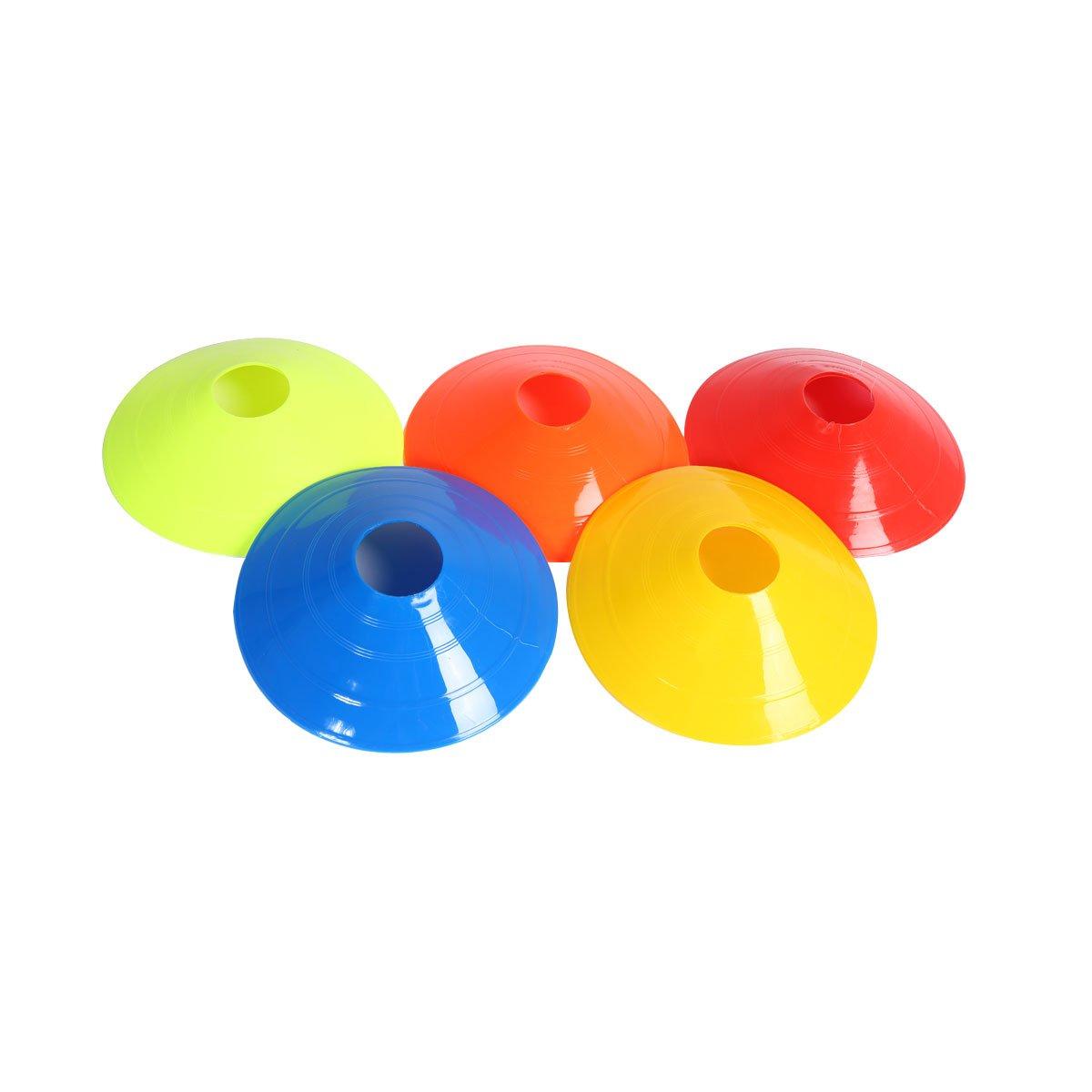 ease 10PCS palla da calcio–Coni marcatori sport running calcio Rugby fitness Agility training