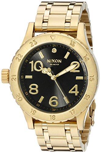 Nixon Women's A4102042 38-20 Analog Display Japanese Quartz Gold Watch