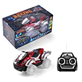 Kids ATV Toy Quad with Radio Remote Control, Off Road Racing Car with Sounds and Lights