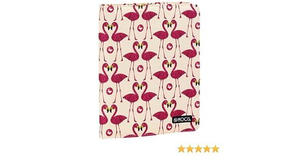 Moos - Portadocumentos, diseño Flamingo (Safta 511423717): Amazon.es: Juguetes y juegos