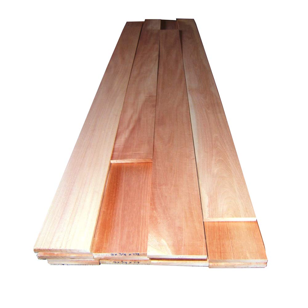 10 square feet of Spanish Cedar solid wood 1/4'' veneer for humidors, kiln dried sanded both sides by Diamond Tropical Hardwoods