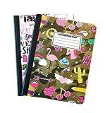 Camo Cute Composition Notebooks - Set of 2 (Camo)