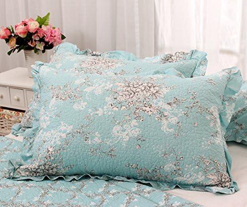 DSZ Lotus único coreano único encaje de algodón fundas de almohada ...