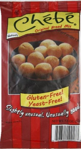 Chebe Bread Original Cheese Bread Mix, Gluten Free, 7.5 oz Bags