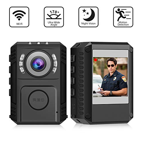 Used, Body Camera 1080P HD Portable Police WornCamera Support for sale  Delivered anywhere in USA