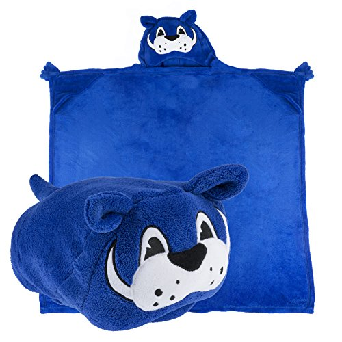 Comfy Critters Stuffed Animal Blanket - College Mascot, University of Kentucky 'Scratch' - Kids Huggable Pillow and Blanket Perfect for The Big Game, Tailgating, Pretend Play, Travel, and Much More.