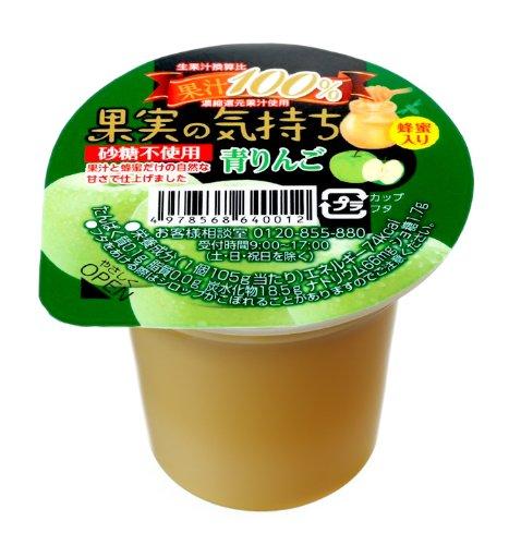 Feeling green apple 105gX12 pieces of Marushin food N-43 fruit by Marushin food