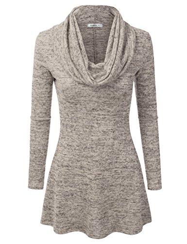 Doublju Marled Line Sweater available