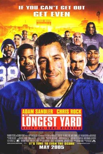 Longest Yard Regular Movie Poster Double Sided Original 27x40 (Longest Yard Poster)