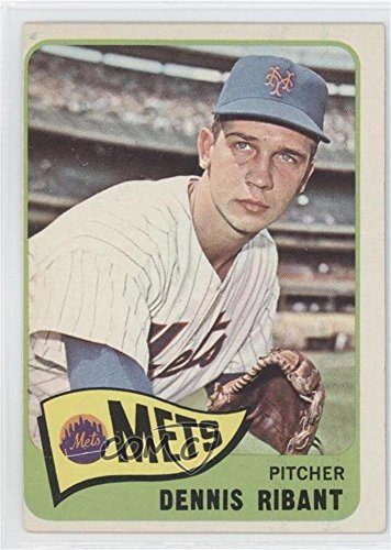 Dennis Ribant COMC REVIEWED Good to VG-EX (Baseball Card) 1965 Topps #73