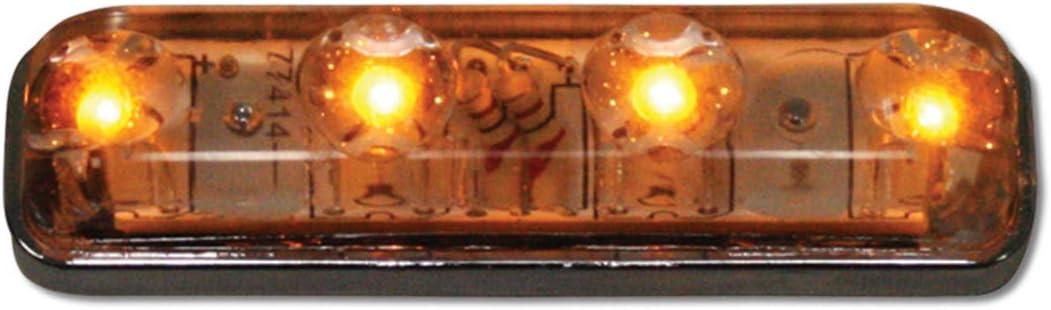 1 Pack Grand General 77144 Sealed Light Small Rectangle White 4-LED