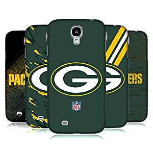 Official NFL Green Bay Packers Logo Hard Back Case for Samsung Galaxy S4 I9500 from Head Case Designs