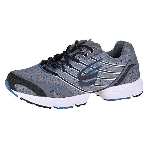 (Spira Stinger XLT 2 Men's Running Shoes Size US 9.5, Regular Width, Color Charcoal/Black)