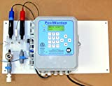 PoolWarden Single Pool and Spa Chemical Automation Controller, Monitor - Control pH, ORP and temperature
