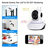 1536P WiFi IP Home Security Wireless Camera,Pan/Tilt/Zoom Monitor with Motion Detection Two-Way Audio Night Vision for Baby/Elder/Pet