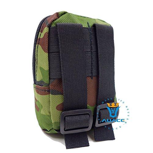 Multifunktions Survival Gear Tactical Beutel MOLLE Tasche Military Handytasche, Outdoor Camping Tragbare Travel Bags Handtaschen Werkzeug Taschen Taille Tasche MC