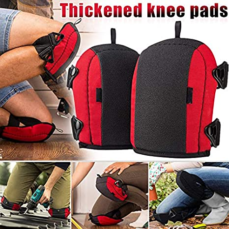 TTFLY 1 Pair Flooring Knee Pad Protector Guard Support Anti-slip for Roofing Gardening Suitable for Cleaning wood floors or carpet oinstallation