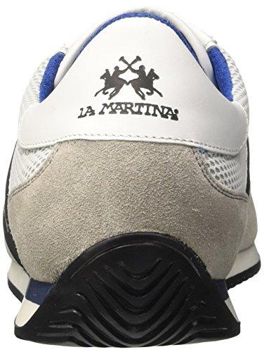 La Martina Sneaker Uomo Bianco Venta Barata De Suministro fFcGunk
