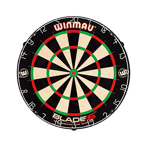 Winmau DWIN500-5  Blade 5 Bristle Dartboard (Best Dart Board For The Money)