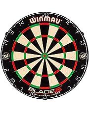 WINMAU Game Room Blade 5 Bristle Dartboard, Black White RED, 1.50 x 17.75 x 17.75 inches