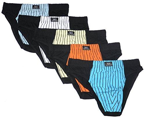 5er-Pack Herrenslips Slip Set Männer Unterwäsche, Größe 4, 5, 6, 7, 8, 9, 10, 11, 12, 14