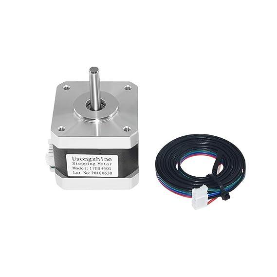 Xuba 17Hs4401 - Motor de 4 conductores para impresora 3D (motor 42 ...