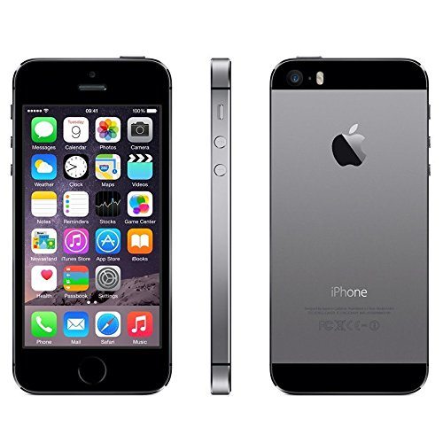 Apple iPhone 5s 16GB Unlocked GSM 4G LTE Smartphone w/ Fingerprint Sensor - Space Gray