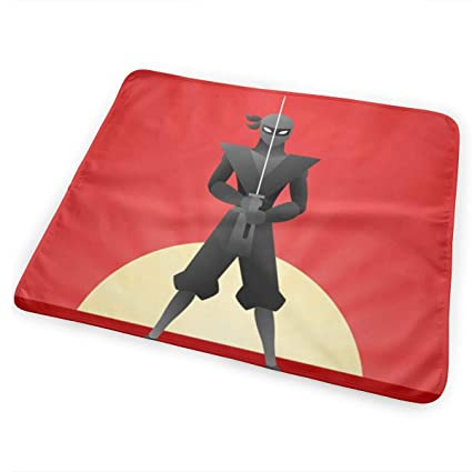 Amazon.com: YJMHstore Colorful Ninja Warrior Background Soft ...