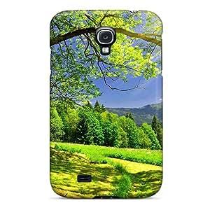 MattDFarmer Galaxy S4 Hybrid Tpu Case Cover Silicon Bumper Nature Forest Sun Is Shining