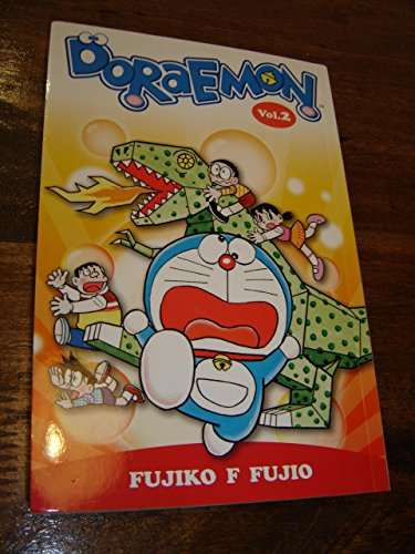 Doraemon, Vol. 2 – English Edition / Content: The Great Paper War, Noby's Dinosaur, A Touching Tale, Polarity Patches, Animal Transformation Crackers, A Hermit's Life for Me and ()