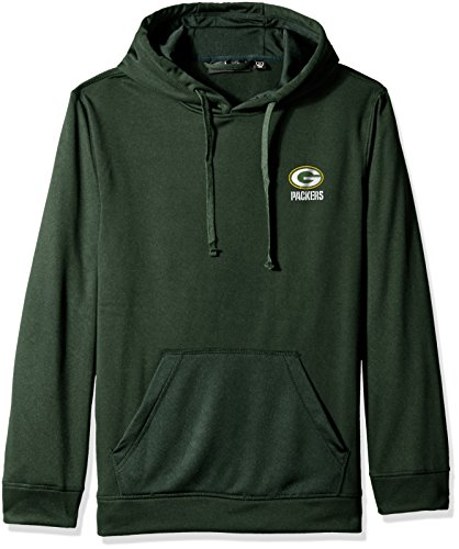 Green Bay Packers Apparel (NFL Green Bay Packers adult Champion Polyester Tech Fleece Pullover, X-Large,)
