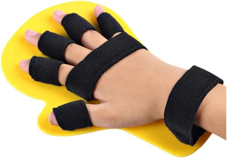 ASZX Finger Splint Fingerboard,Placa de extensión del Separador de Dedos, órtesis de Entrenamiento de muñeca de Mano para rehabilitación de Manos