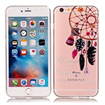 iPhone 6 6S Case, SATURCASE Ultra Thin Soft TPU Gel Silicone Back Case Cover for Apple iPhone 6 6S Dream Catcher