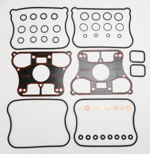 James Gasket Rocker Box Gasket Kit - Rubber with Metal Base 17030-89-X ()