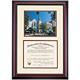 Creighton Bluejays Diploma Frame Ivory Maroon Matting Photograph