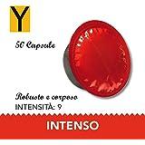 Yespresso Capsule Lavazza a Modo Mio Compatibili Intenso - Confezione da 50 Pezzi