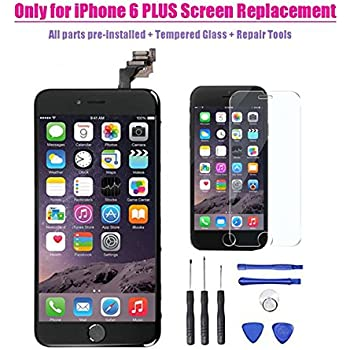 amazon com for iphone 6 plus lcd screen replacement digitizer