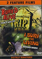 [DVD] Double Feature: Buried Alive (1939) + I Bury The Living (1958)