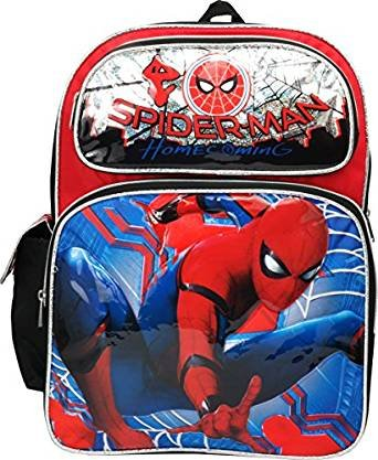 Marvel Spiderman Home Coming 16'' Large Backpack by spiderman