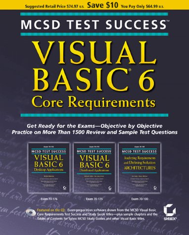 MCSD Test Success: Visual Basic 6 Core by Brand: Sybex Inc