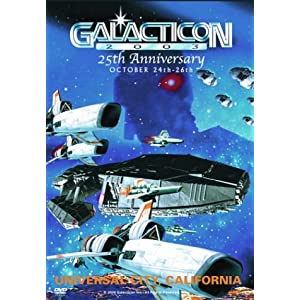 Galacticon 2003 25th Anniversary DVD movie