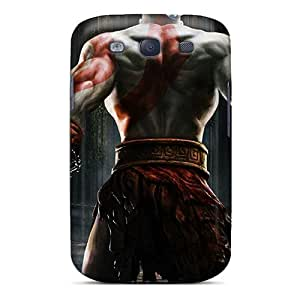 RandileeStewart Samsung Galaxy S3 Scratch Protection Phone Covers Support Personal Customs Attractive God Of War Pattern [udH649xDhI]