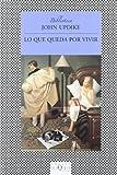 Lo Que Queda Por Vivir, John Updike, 8483832933