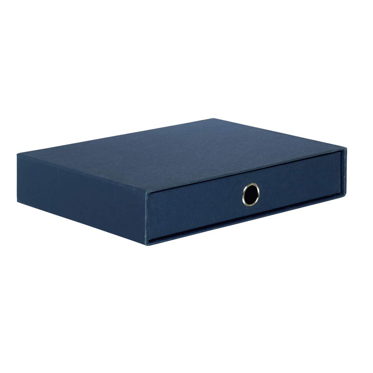 Import Allemagne R/össler 1524452900 Module de rangement Format A4 Bleu marine