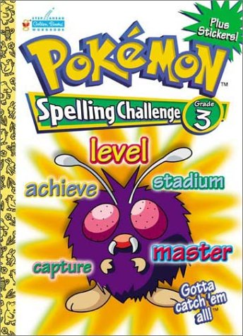 Pokemon-Spelling-Challenge-Grade-3-Workbooks-With-Stickers