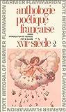 Anthologie poétique française du XVIIe siècle (2) par Allem
